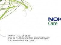 Nokia Customer Care Centres In Pakistan