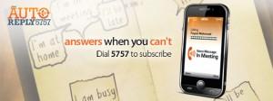 Ufone Auto Reply Service 5757