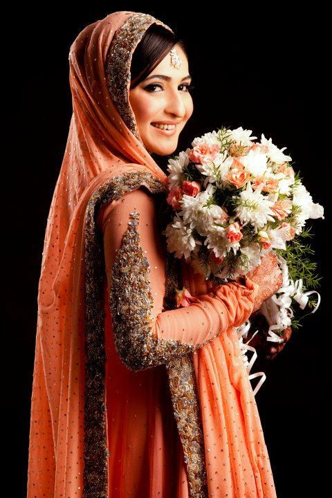 Winter Bridal Dresses In Pakistan