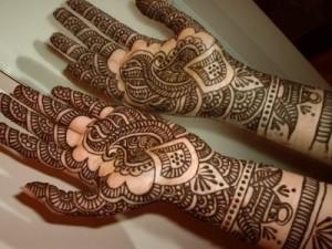 Engagement Henna Designs