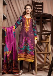 Firdous Cambric Winter Collection 2012-2013