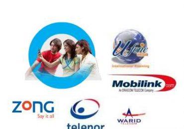 Helpline Number of Telenor, Ufone, Jazz, Zong