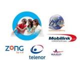 International Call Rates of Telenor Jazz Ufone Zong Warid
