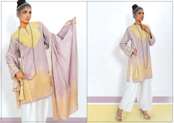 Kayseria winter collection 2014 15 with prices catalogue for Bano market faisalabad dresses