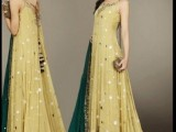 Latest Frocks Fashion In Pakistan 008