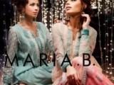 maria b new kurta design in winter