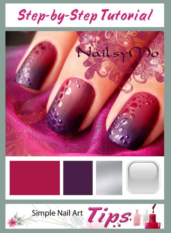 Matte nail polish designs 001