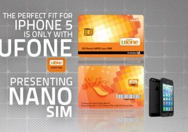Nano SIM In Pakistan By Ufone & Mobilink