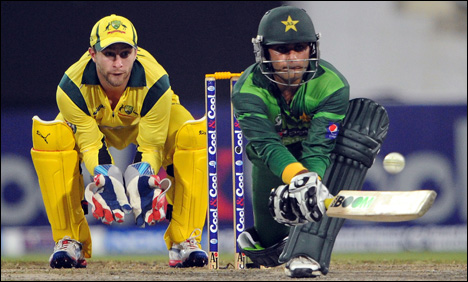 Pakistan Vs Australia T20 Match Highlights World Cup 2012