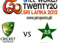 Pakistan vs Australia T20 Live Scorecard Super 8 World Cup 2012