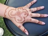 Simple Mehndi Designs For Kids 0014