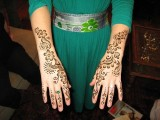 simple mehndi designs for back arms