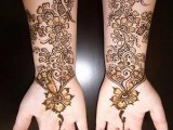 simple mehndi designs for front arms