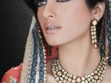 Bridal Wedding Hairstyles 2013 In Pakistan 006
