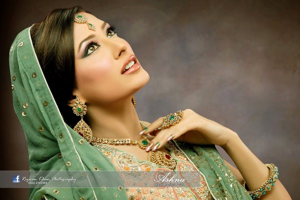 Bridal Wedding Hairstyles 2013 In Pakistan 007