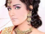 Bridal Wedding Hairstyles 2013 In Pakistan 009