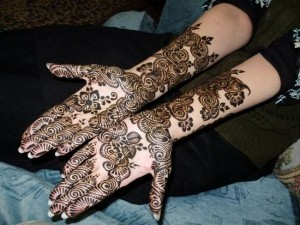 Colorful Mehndi Designs 2013