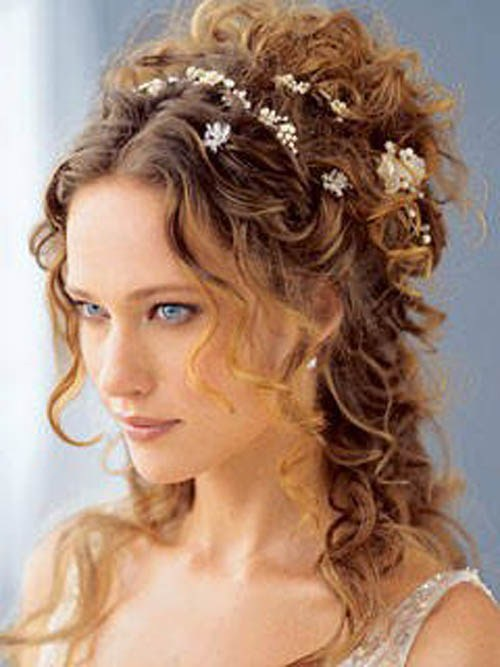 Easy Updos For Long Curly Frizzy Hair : Easy hairstyles for long naturally curly hair globezhair