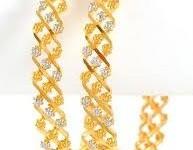 Gold Bracelet Designs For Girls 0019