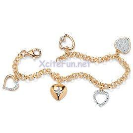 gold bracelet designs for girls