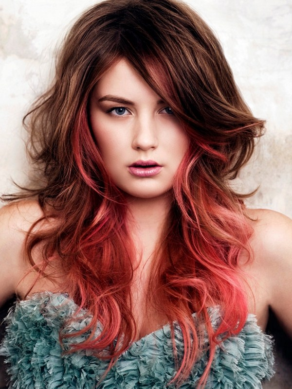 Red Ombre Hair Color for Hair