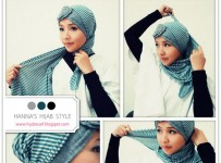 How To Wear Hijab Head Scarf 001