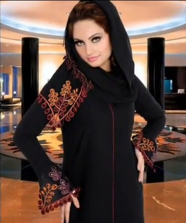 Latest Abaya Designs 2013 002