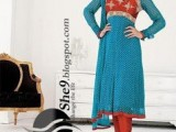 Latest Churidar Pajama Designs 2013 0011