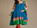 Latest Churidar Pajama Designs 2013 0012