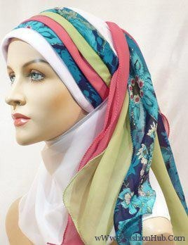Latest Hijab Fashion Style Trends 2013 003