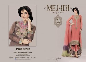 Mehdi Party Wear Dresses 2012-2013