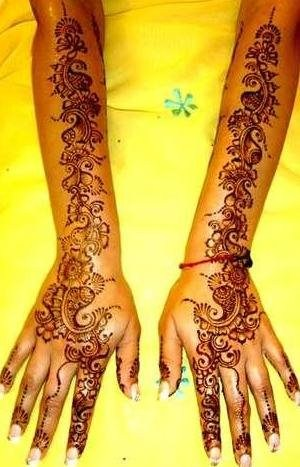 Mehndi Designs For Back Hand Side 0013