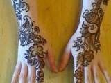 Mehndi Designs For Back Hand Side 0014