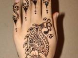 Mehndi Designs For Back Hand Side 0019