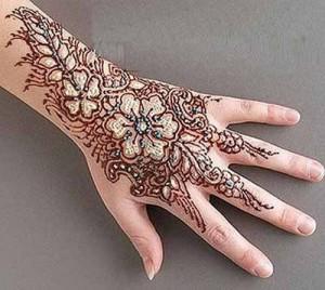 Mehndi Designs For Back Hand Side