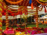 Mehndi Function Decoration Ideas At Home 0010