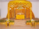 Mehndi Function Decoration Ideas At Home 0014