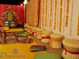 Mehndi Function Decoration Ideas At Home 002