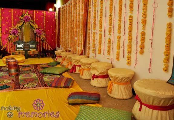 These Mehndi Function Decoration Ideas At Home Make Your Most Beautiful And Attractive So Must Visit This Page Take Benefit From