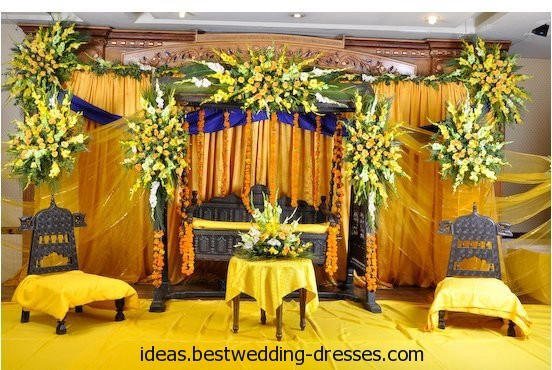 Mehendi Ceremony Decoration Ideas At Home : Mehndi Function Decoration Ideas At Home 009
