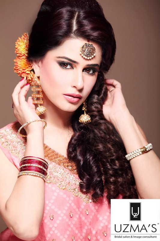 Pakistani Wedding Hairstyles