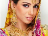 Pakistani Bridal Hairstyles Medium Length 2013 0010