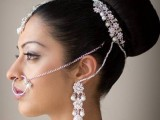 Pakistani Bridal Hairstyles Medium Length 2013 0011