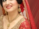 Pakistani Bridal Hairstyles Medium Length 2013 0012