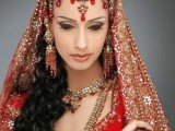 Pakistani Bridal Hairstyles Medium Length 2013 0013