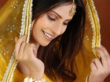Pakistani Bridal Hairstyles Medium Length 2013 0014