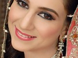 Pakistani Bridal Hairstyles Medium Length 2013 0016