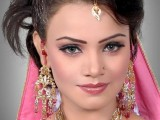 Pakistani Bridal Hairstyles Medium Length 2013 0019