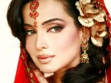Pakistani Bridal Hairstyles Medium Length 2013 0020