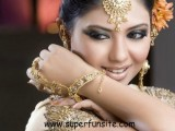Pakistani Bridal Hairstyles Medium Length 2013 0021